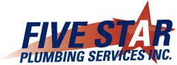 Five Star Plumbing Mobile Logo