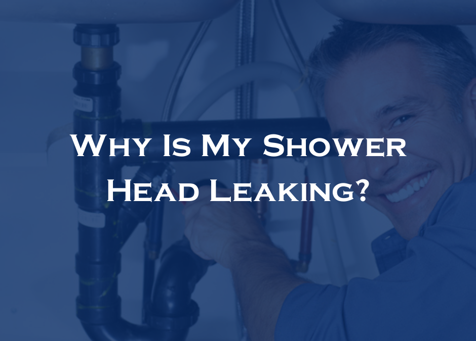 Why Is My Shower Head Leaking?